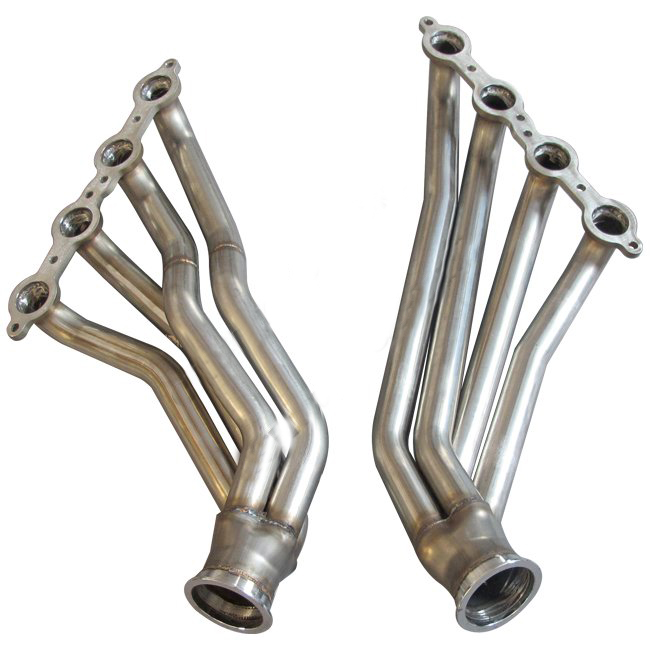 Car Engine Parts Exhaust Pipe Manifold For Nissan350Z GM LS LSx Swap