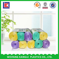 cheap eco friendly plastic garbage bag China factory