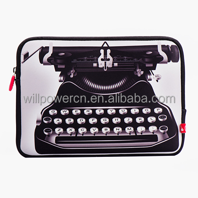 7'' tablet sleeve TV pattern neoprene case
