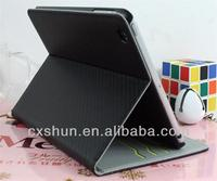 Mat grain dormancy leather stand cover case for ipad mini