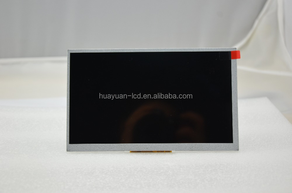 7 inch tft lcd display 800x480(WVGA) resolution with 164.9*100*3.5 outline size
