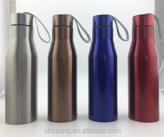 750ml outdoor vacuum insulated stainless steel customized sports bottle