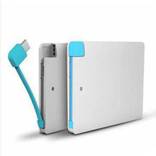 Factory Price Ultra Slim Credit Card Power Bank