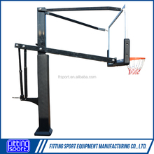 5FT-10FT Height Adjustable Inground Basketball Goal