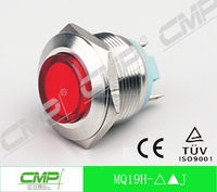 19mm metal LED waterproof signal lamp, indicator light