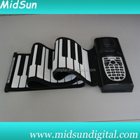 61 keys roll up piano keyboard,hand roll piano,flexible keyboard piano
