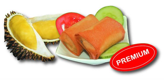 Durian paste, crispy fruity durian