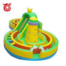 Guangzhou manufacturer inflatable obstacle course inflatable maze, inflatable obstacle course