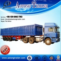 3 axle 60 Ton tipper truck / Semi Trailer on sales