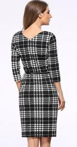 Aliexpress ladies pencil dress western women lady summer plaid office dresses