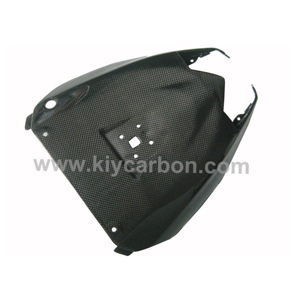 Carbon fiber under seat cover motorcycle part for Kawasaki ZX10