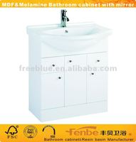 white MDF bathroom furniture/bathroom design