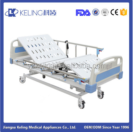electric bed hospital furniture function of the parts of electric iron manual nursing bed