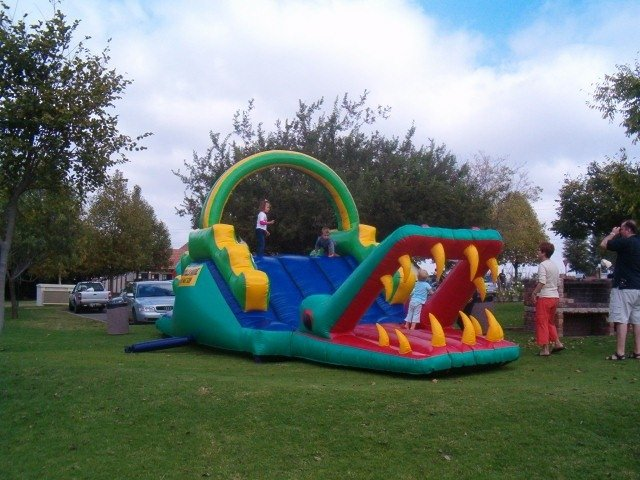 Giant Crocodile Jumping Castle