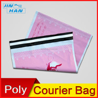 elegant poly various colors waterproof mailing bags for express delivery and packaging