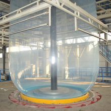 Three-layer greenhouse film blowing machine