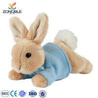 High quality easter gift plush easter bunny rabbit with dress custom plush stuffed bunny