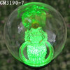 solar energy lights ball with figurines inside
