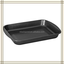 Carbon steel non-stick baking tray,shallow oven tray for bakery