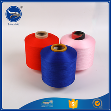 High quality color poly propylene spandex polyester dty yarn