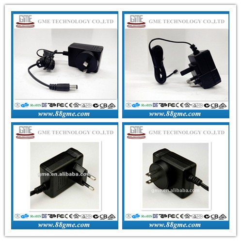 GME 3-24.9V 0.01-2A CE AC Adapter