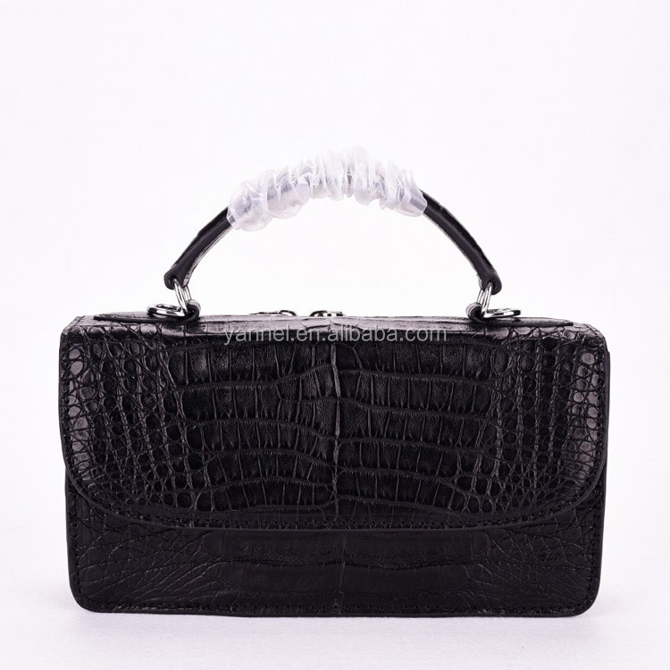 crocodile mini crossbody shoulder bag_exotic handbag_mini lady bag#crocodile crossbody bag