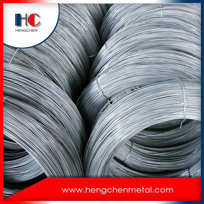 Use of annealed black iron binding wire