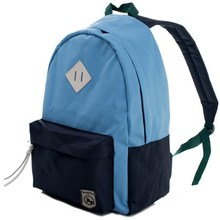 Basic style Teenage fashion color oxford school bag