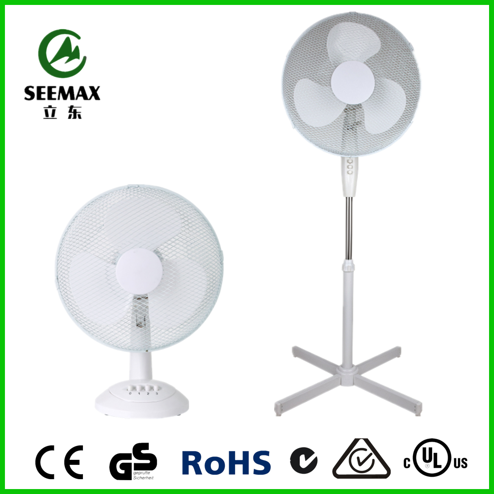 SEEMAX Popular Electric Plastic Cooling Fan with PP blade and DC motor