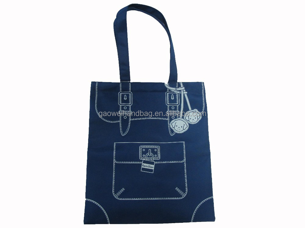microfiber Material lovelyTOTE BAG;fully sublimated Microfiber magazine tote bag with tough handles/JAPANESE Magazine bag
