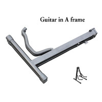 hot sale guitar parts A frame foldable guitar stand