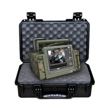 Tricases manufacturer tough military instrument box PP hard plstic case with foam