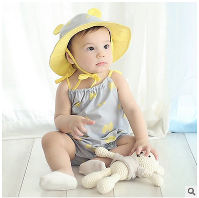 W4115 New Arrival Hot Selling Baby Rompers Girl Boy Baby Pajamas Cute Newborn Jumpsuits Rompers