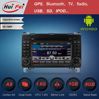 HuiFei capacitive touch screen Car Radio for Benz W169 W245