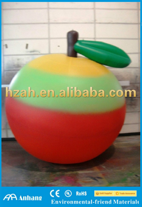 Multicolor Inflatable Apple Balloon for Advertising Decoration