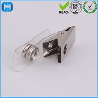 Best Selling Metal ID Strap Clip Holder For Name Badge
