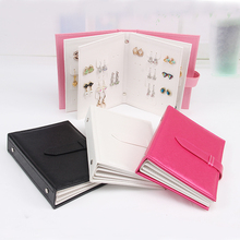 Mix color Luxury Earring Display storage Box Jewelry Display Box