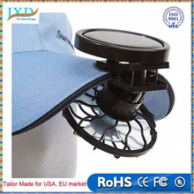 New Portable energy-saving eye-catching Cooling Energy Saving Clip-on Solar Cell Fan Sun Power Energy Panel Fan