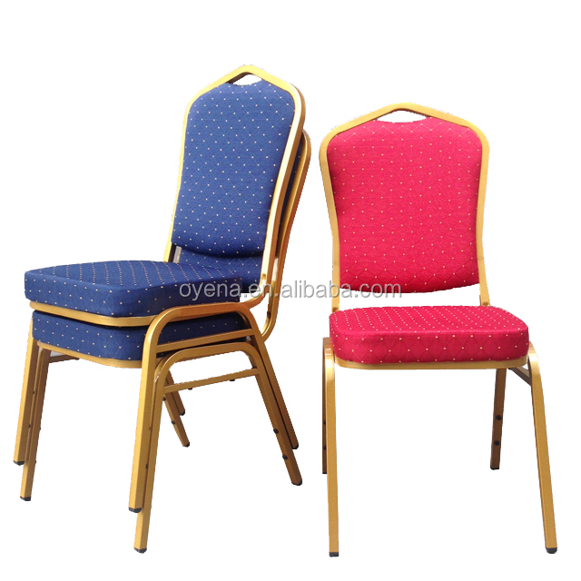stacking metal frame banquet chairs for hot sale