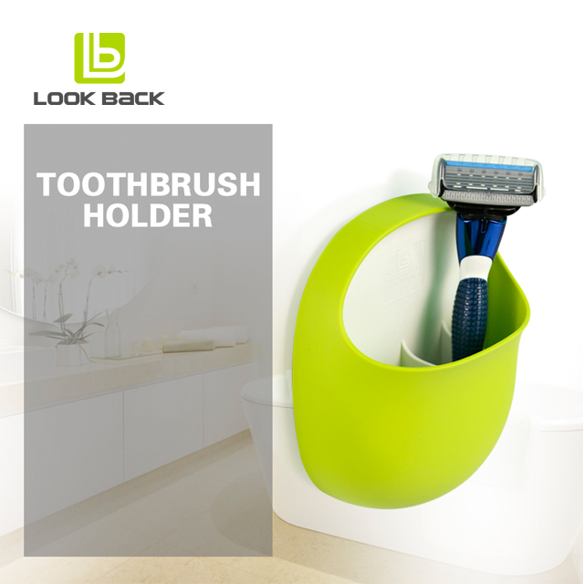 Hot selling on Amazon kids bathroom toothbrush holder