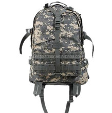 600-denier polyester backpack, Camouflage tactical backpack, military digital camouflage backpack