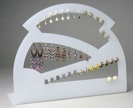newly design style acrylic body jewelry display stand