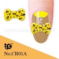 dongguan nails supply 3d bows for nails beauty bow arts design