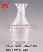 Clear Art Deco Crystal Aroma Diffuser Bottle 75ML