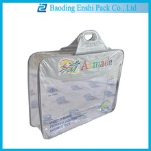 import china products clear vinyl pvc zipper blanket bags