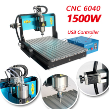 Wholesale price MINGDA MD 6040 1500W 3 or 4 axis CNC Engraving Machine , CNC router machine for wood metal etc
