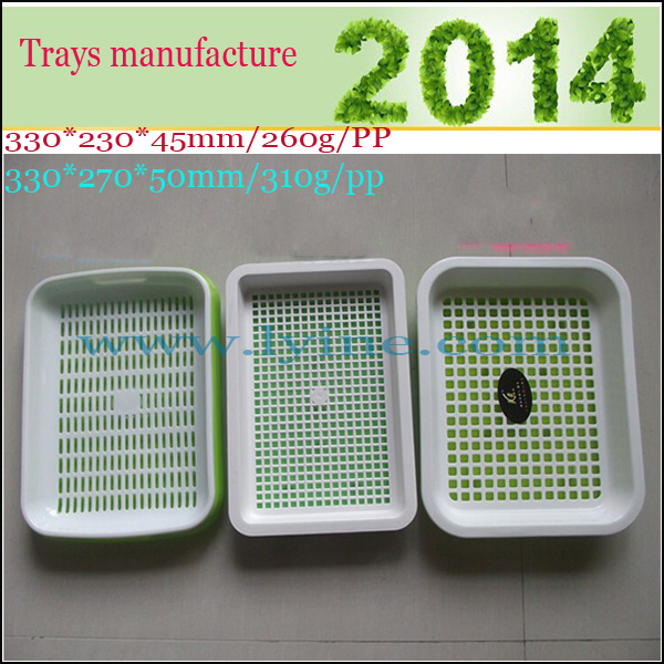 wheat alfalfa barley sorghum corn grain plastic seed germination tray for seeds sprouting