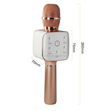 Wireless bluetooth handheld cheap microphone Q7S for outdoor party karaoke