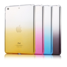 HAWEEL for iPad mini 1 / 2 / 3 Slim Gradient Color Clear Soft TPU Case