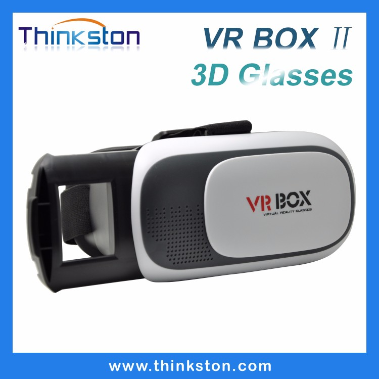 high quality google cardboard 2nd generation virtual reality 3d glasses vr box 2.0